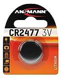 ANSMANN 1516-0010 Knofpzelle Batterie Lithium CR 2477-3V