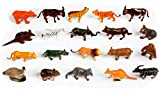Best Animals - Elektra Wild Animals 20 Pcs - Multi Color Review