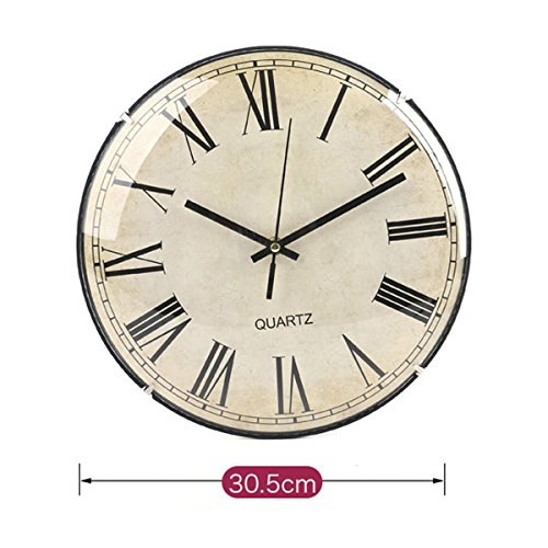 PRECIO REBAJADO! Reloj de pared disco 30,5 cm Clasico