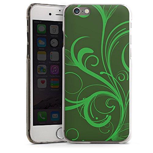Apple iPhone 5 Housse Étui Silicone Coque Protection Ornement Vert Rankel CasDur transparent
