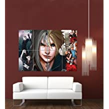 FINAL FANTASY 7 ADVENT CHILDREN GIANT WALL ART PRINT POSTER PLAKAT DRUCK PICTURE G980