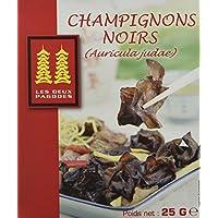 LES DEUX PAGODES Champignons Noirs Déshydrates 25 g - Lot de 2