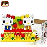 iBlock Fun–Blocchi Costruzione miniatura Loz–Kitty Seesaw