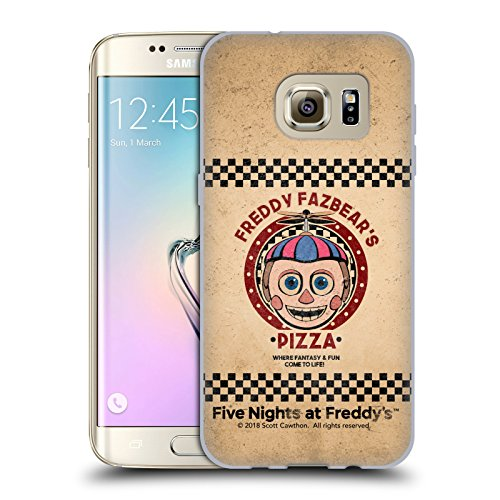 Official Five Nights At Freddy's Balloon Boy Freddy Fazbear's Pizza Soft Gel Case for Samsung Galaxy S7 edge
