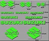 Ecoshirt TG-FQP0-DJRH Aufkleber Motorrad Rgsx Suzuki R169 Stickers Aufkleber Decals Autocollants...