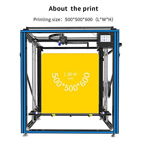 TRONXY X5SA-500 3D-Drucker-Bausatz, Auto-Nivellierung, Glühfadensensor, Druckwiederaufnahme, Vollmetallwürfel mit 3,5-Zoll-Touchscreen, Supergroßdruckgröße 500 * 500 * 600 - 4