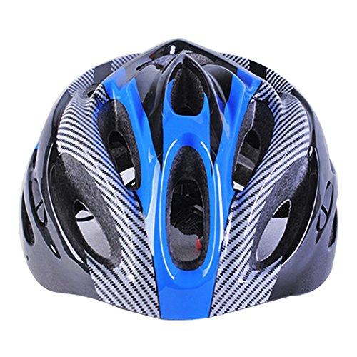 GCDN Mountainbike-Helm, Fahrradhelm, Sport-Sicherheits-Schutzhelm, bequem, leicht, atmungsaktiv, für Erwachsene Herren und Frauen, blau, Free Size