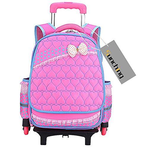 school-bags-for-teenage-girls-sunching-waterproof-backpack-with-wheeled-trolley-hand-kids-travelling