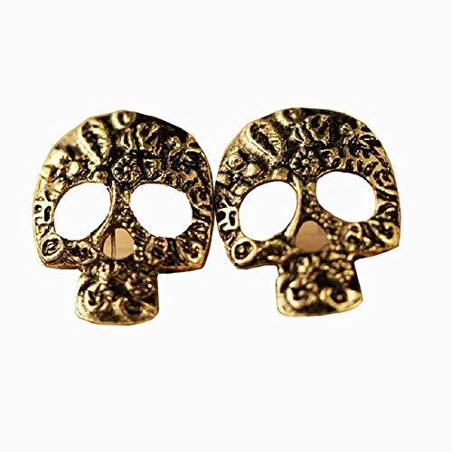 Hilai Skelett Earring Halloween Earring Halloween-Accessoires für Frauen/Männer 1 Paar