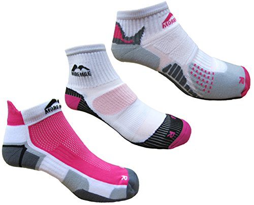 more-mile-womens-3-pair-pack-running-socks-london-miami-san-diego