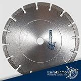 Diamanttrennscheibe GRANIT SPEZIAL, ø 230 mm, Granit, Naturstein, Stahlbeton, Feinsteinzeug.Durch angeordnete Diamanten eine extreme Schnittfreudigkeit und Standzeit. Sehr ruhige Laufeigenschaft durch punktgenaue Lage der Diamanten im Segment,