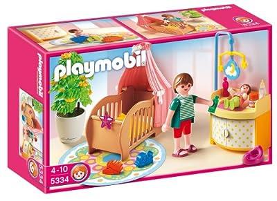 Rosa Habitación Del Bebé de Playmobil (5334)