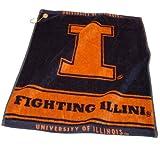 NCAA Illinois Woven Team Golf Towel