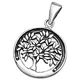 So Chic Bijoux © Pendentif Médaille Arbre de Vie Argent 925