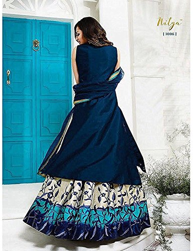 bd2b223ff2b Dresses And Dress Materials For Women s Silk Cotton Fit Embroidery Dress  Material Party Wear And Regular