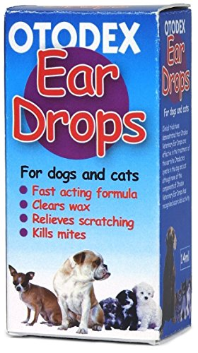 Otodex Veterinary Ear Drops 14ml