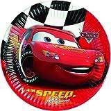 Disney Cars Red Pappteller Partyteller 10Stk