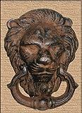 Türklopfer Löwe antik Design aus Gusseisen 15x11 cm