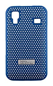 Samsung Galaxy Ace Metal Look Cool Case By Anymode - Blue