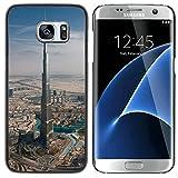 Graphic4You Burj Khalifa Dubai Carte Postale Design Coque Cache Étui Housse de Protection pour Samsung Galaxy S7 Edge