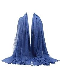 MRULIC Echarpes foulards femme Foulards Echarpe Foulard Long dame écharpe  châle écharpe femme écharpe wrap écharpes 662e87412371