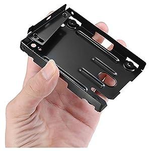 Digimate® Festplatte Einbau Rahmen HDD Halterung Super Slim für PS3 System CECH-400x Serie