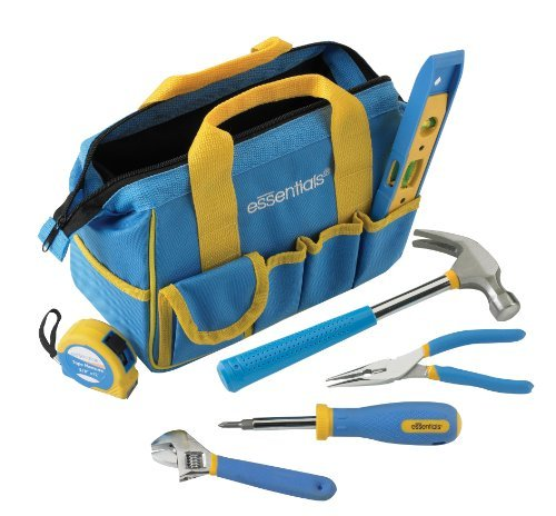GreatNeck 21045 Essentials 7 Piece Around the House Tool Kit by Great Neck - Tool House Kit