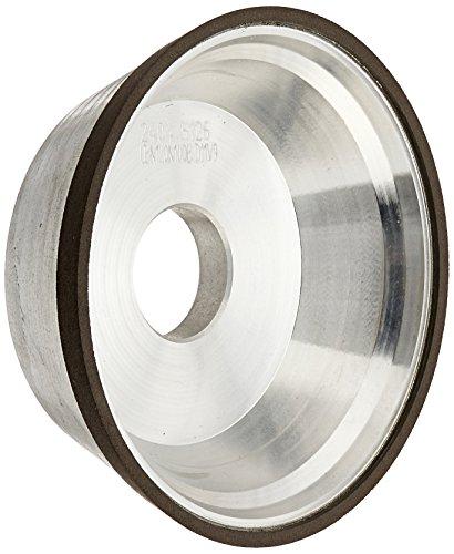 "hhip d11V9Bördelgerät Cup Diamant & CBN Rollen (verschiedene Größen: 3–3/10,2cm zu 10,2cm), 5"" Diameter, 1-3/4"" Thickness, 1/8"" Diamond Depth, 1"