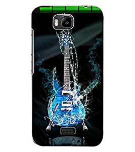 ColourCraft Amazing Guitar Design Back Case Cover for HUAWEI HONOR BEE
