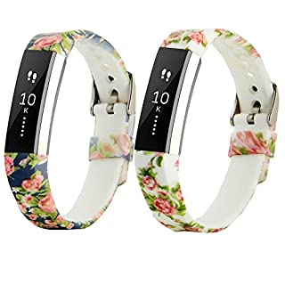 DigiHero For Fitbit Alta HR and Alta bands, Adjustable Soft Silicone Sports Replacement Accessories Straps for Fitbit Alta Heart Rate/Fitbit Alta
