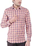 Oxemberg Men's Checkered Formal 100% Cot...