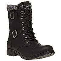 Rocket Dog Billie Boots Black