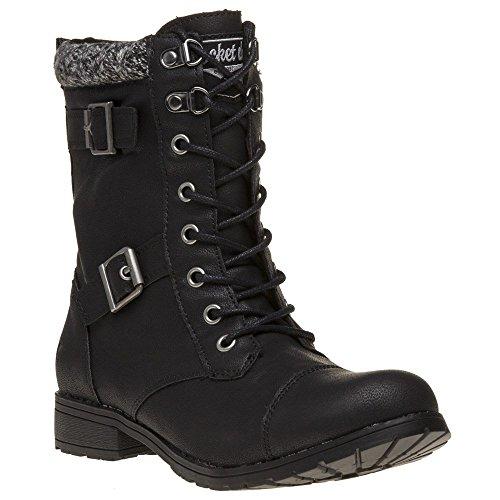 Rocket Dog Billie Boots Black 8 UK