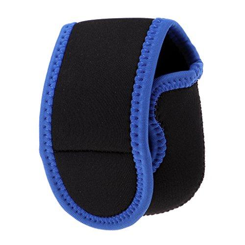 MagiDeal Baitcasting Rolle Tasche Abdeckung Angelrolle Tasche Schutzhülle Aufbewahrungstasche