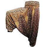 PANASIAM Aladin Pants, Print-Design-style: Peacock v09