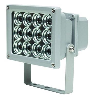 as - Schwabe 46900 12W Profi-LED-Strahler ohne Zuleitung, für die Wand- oder Stativbefestigung. IP65 Gewerbe, Baustelle von as - Schwabe auf Lampenhans.de