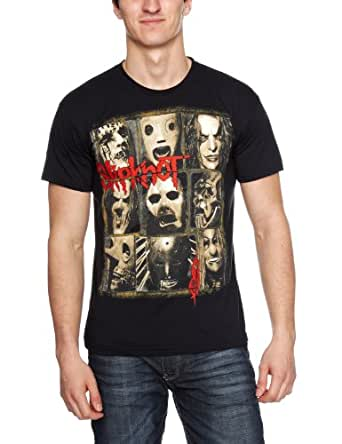 Bravado - Slipknot Mezzotint Decay - T-Shirt - Homme - Noir - FR: Small (Taille fabricant: Small)