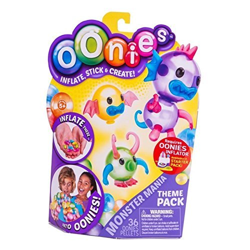 Oonies Theme Pack Monster Mania
