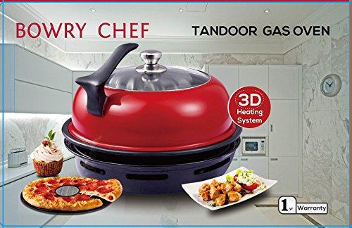 Tandoor - Barbacoa para horno de gas (barbacoa de interior)