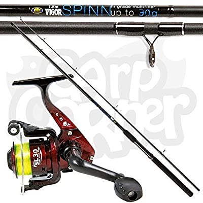 Lineaeffe SL30 1BB Reel with Vigor 1.8m/6ft Spin Float Fishing Rod 30g Action by Lineaeffe