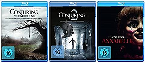 Conjuring - Teil 1+2 + Annabelle / Blu-ray Set /