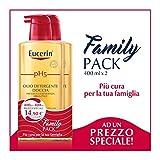 Eucerin PH5 Olio Detergente Doccia Family Pack 2X400 ml
