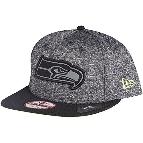 New Era 950 NFL Grey Collection Snapback Cap Seattle Seahawks