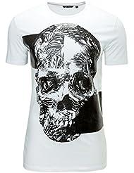 Antony Morato T-shirt homme Impression Skull O-Neck