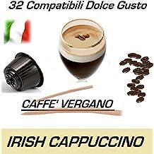 """Cápsulas compatibles con Nescafè Dolce Gusto®, Cápsulas de Caffè Vergano Mezcla """"Irish Cappuccino"""" (32 Cápsulas)"""