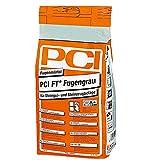 PCI FT Fugengrau, Silbergrau, 5 kg