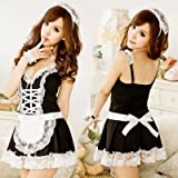 Sesexxy Sexy lingerie adult female suits extremely maid outfit maid uniforms perspective nightwear,9039 high,A maid suit (including stockings)