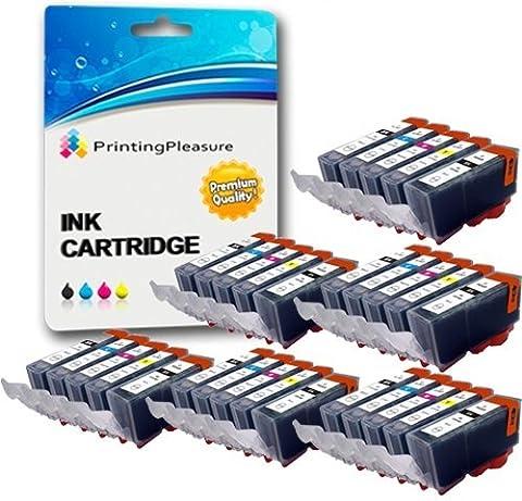 Canon A 520 - 30 Compatibles PGI-520 CLI-521 Cartouches d'encre pour