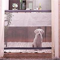 Chen0-super - Puerta de Perro para Interior Plegable y Segura para Puerta de Mascota, Vallas aisladas y portátiles, Alta instalación Extra Ancha en Cualquier Lugar