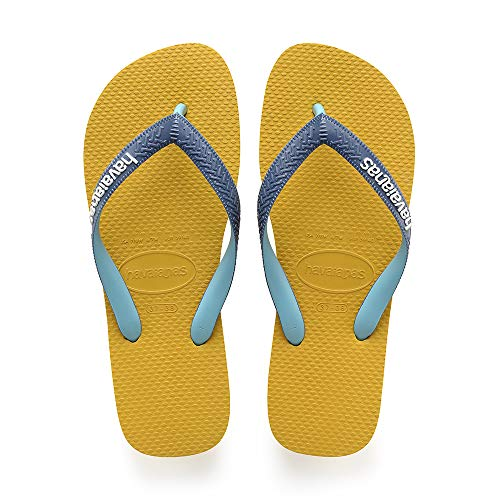 Havaianas Top Mix, Infradito Unisex Adulto, Multicolore [Mustard 0486], 43/44 EU